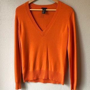 Theory V-neck Cashmere Sweater